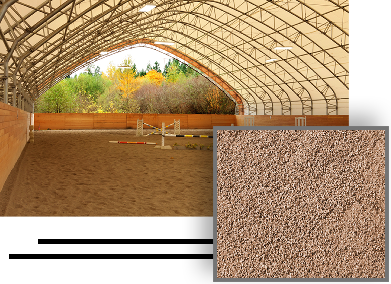 ground material for a horse arena