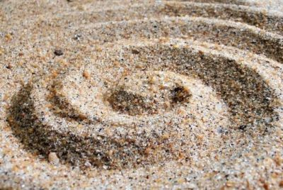sand mixture