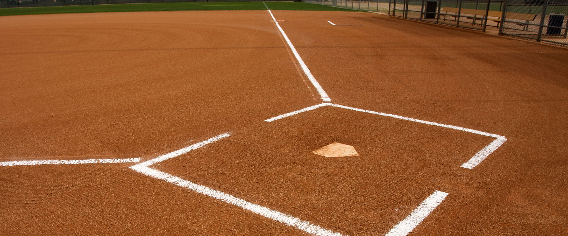 infield mix just used on a baseball field